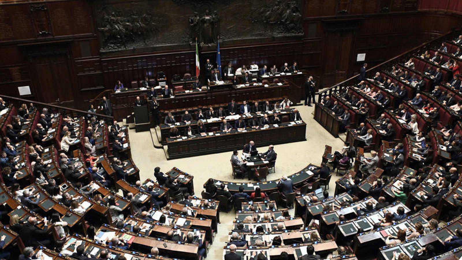 La cámara baja del Parlamento Italiano vota la investidura del Gobierno de Conte
