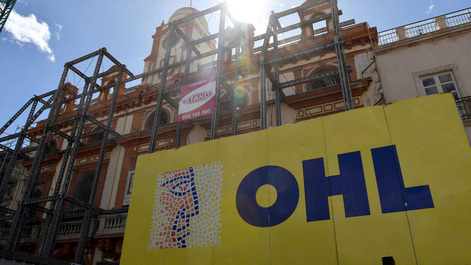 Imagen de la obras de rehabilitación y reforma del Ayuntamiento de Almería