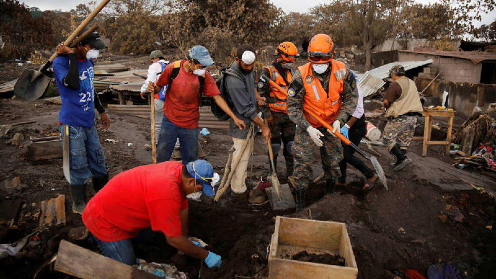 La UE aportará más de 10 millones de euros a Guatemala por el volcán de Fuego