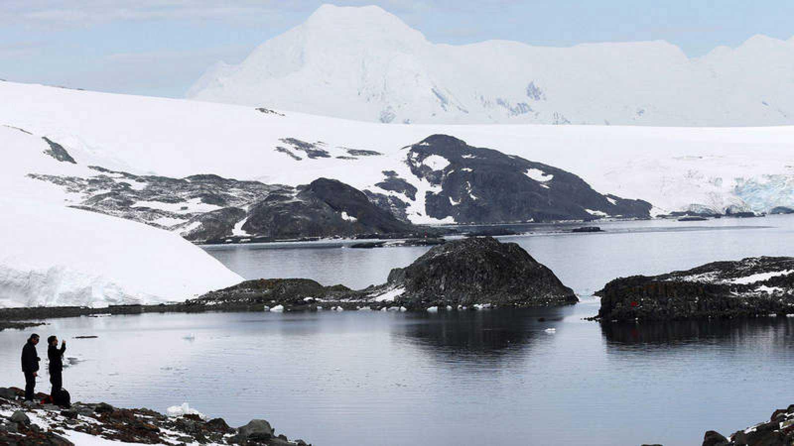 Las muestras de sedimentos antárticos proceden de varias estaciones del Mar de Weddell y frente a la Península Antártica.