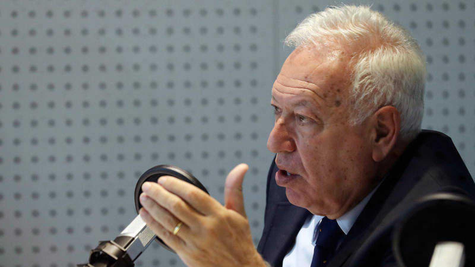 El diputado y exministro de Asunto Exteriores José Manuel García-Margallo