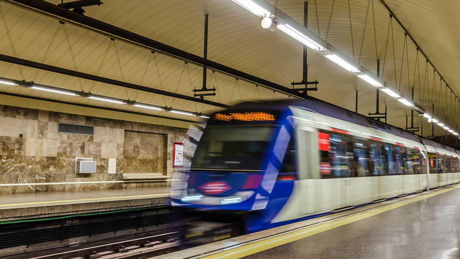 Una estación de metro de Madrid