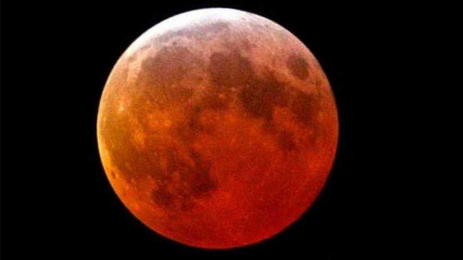 El eclipse total Lunar será visible en España, el resto de Europa y en amplias zonas de África, Asia y Oceanía.