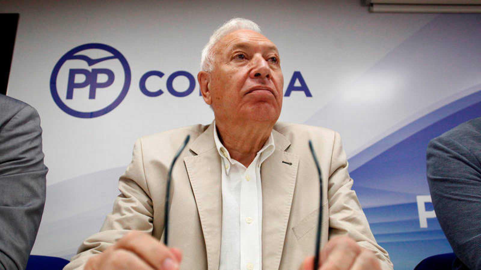 El candidato a la presidencia del PP José Manuel García Margallo