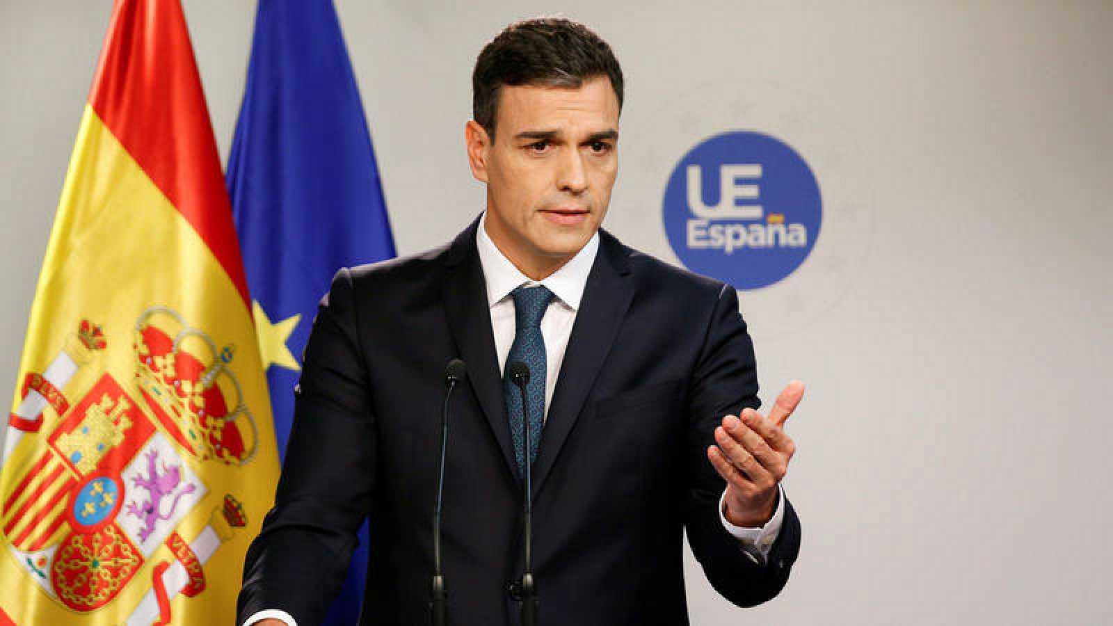 S nchez asegura que no ha hecho falta pedir a sus socios for Presidente del consejo europeo