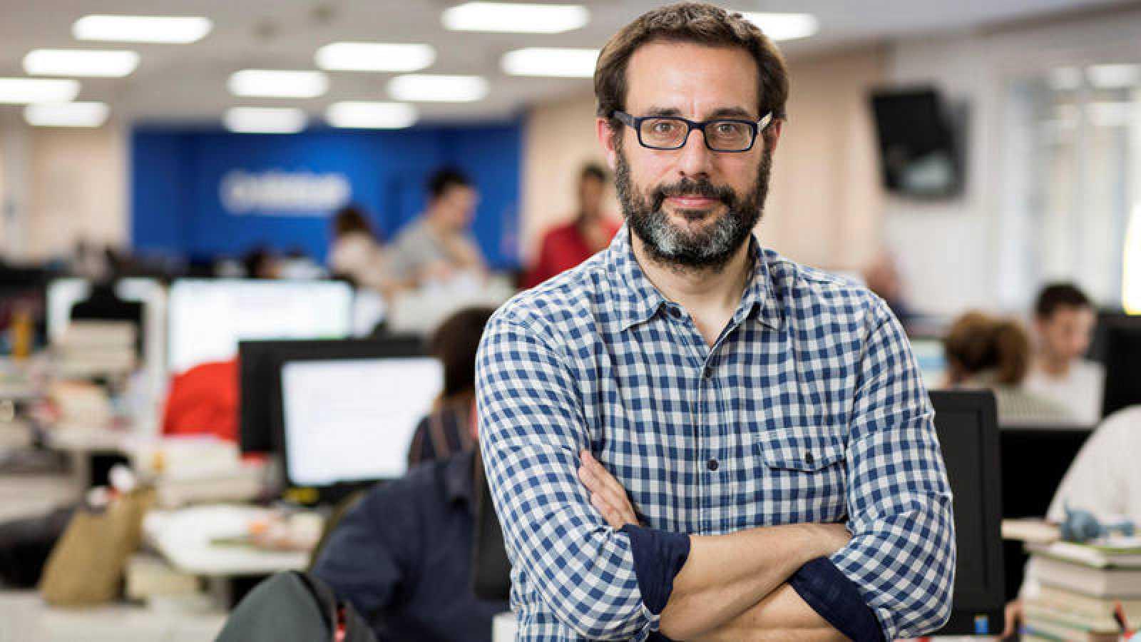 Fotografía facilitada por Eldiario.es del periodista Andrés Gil