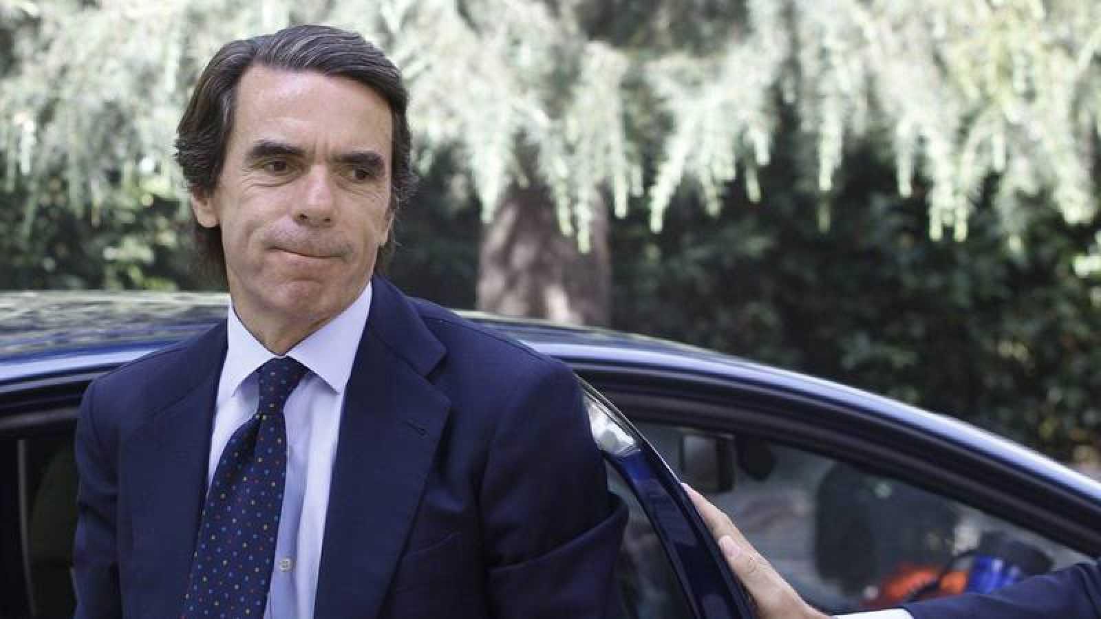El expresidente del Gobierno y del PP, José María Aznar.