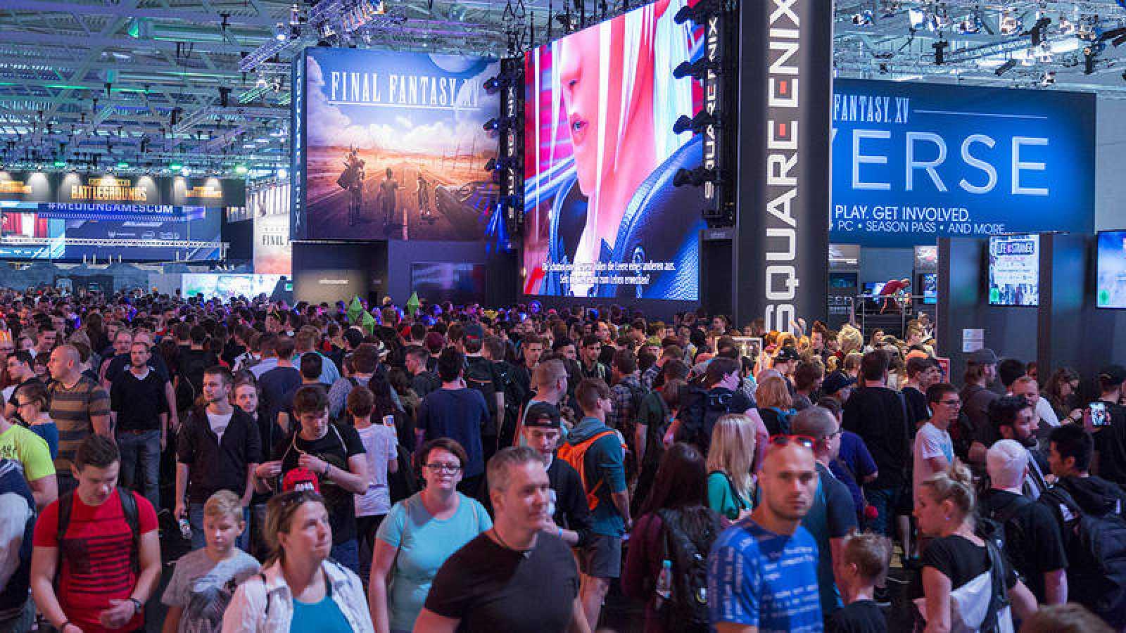 Imagen de la Gamescom de Colonia en 2017