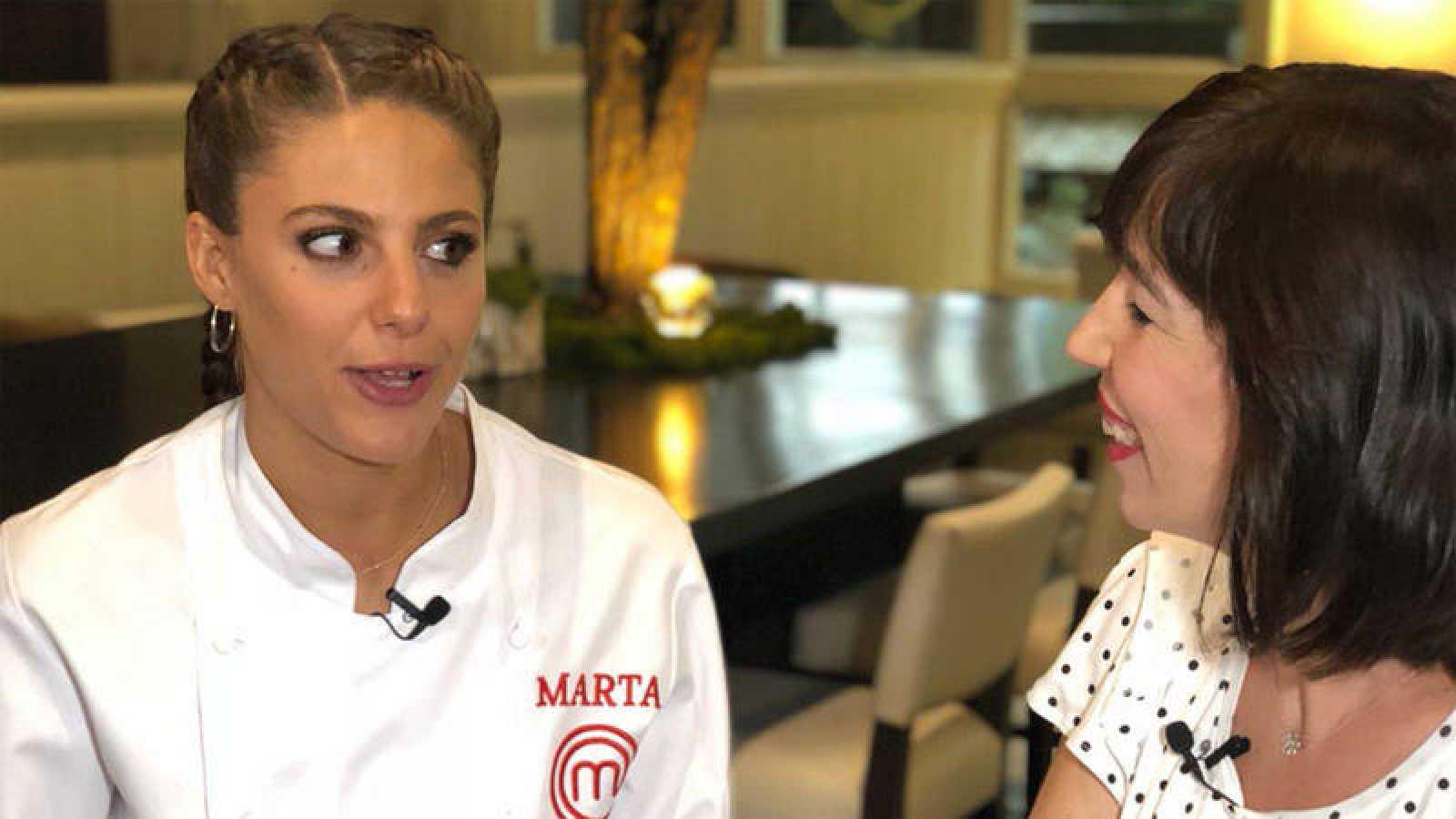 Marta, la ganadora de MasterChef 6
