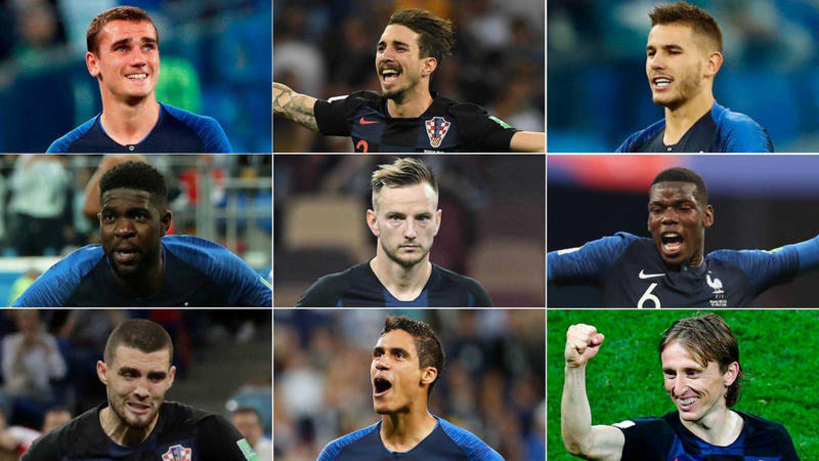Barça, Madrid y Atlético tendrán al menos un campeón del mundo en sus filas