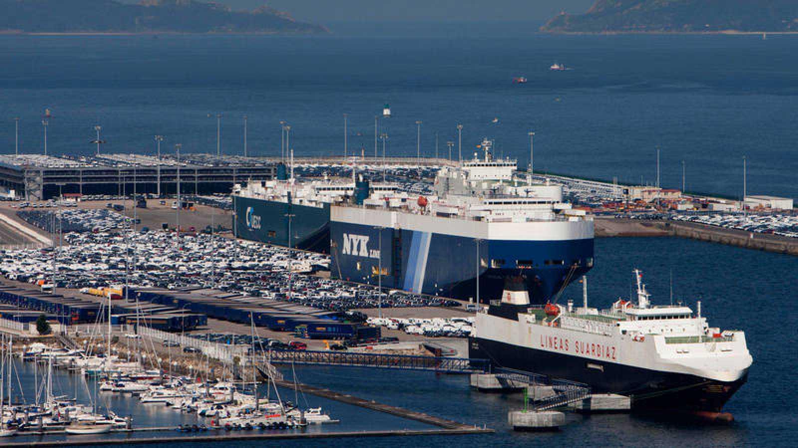 Vista del puerto de Vigo en una imagen de archivo