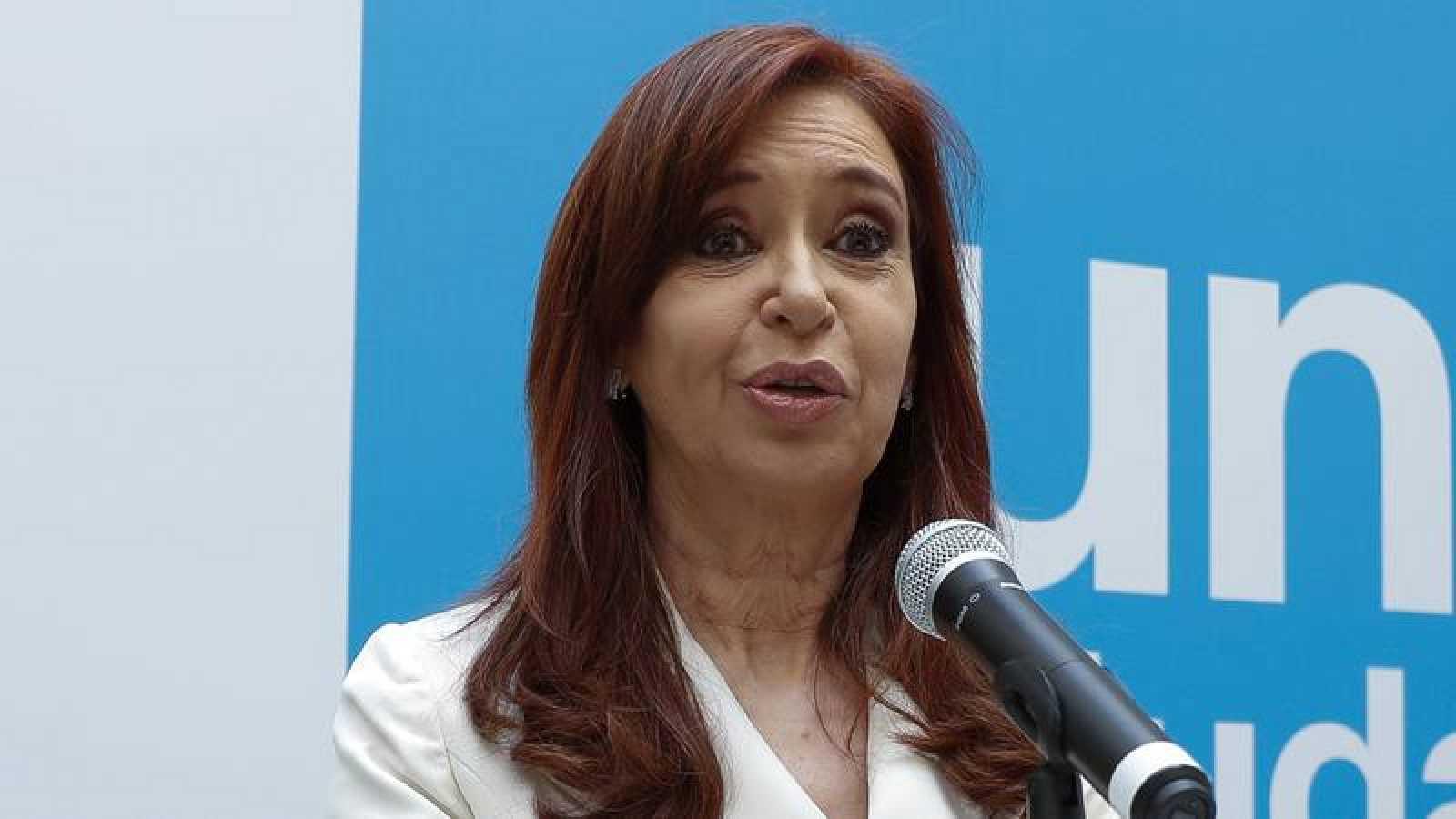 La expresidenta de Argentina, Cristina Fernández, fotografiada en Buenos Aires