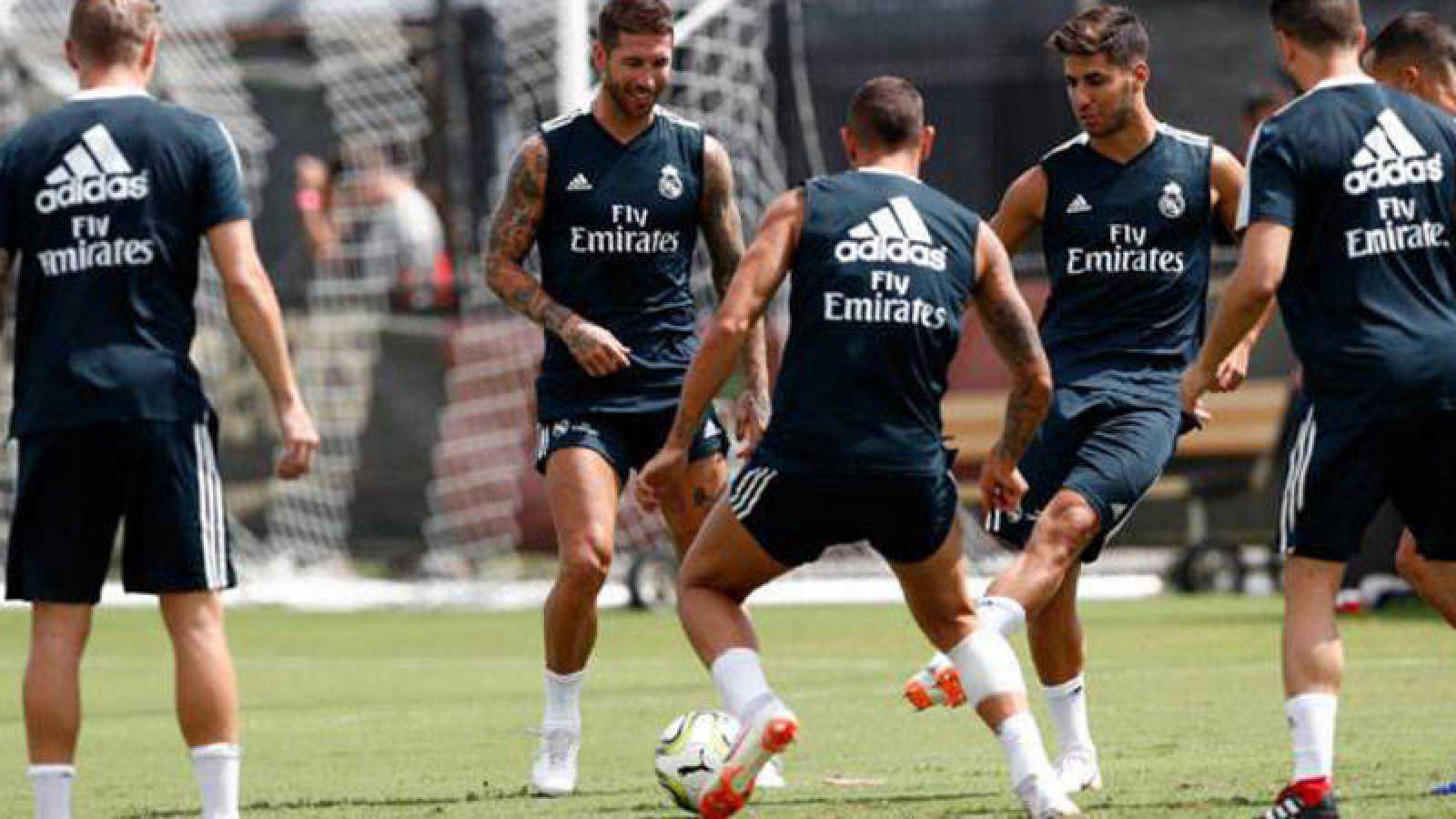 Sergio Ramos se incorpora a la pretemporada del Real Madrid