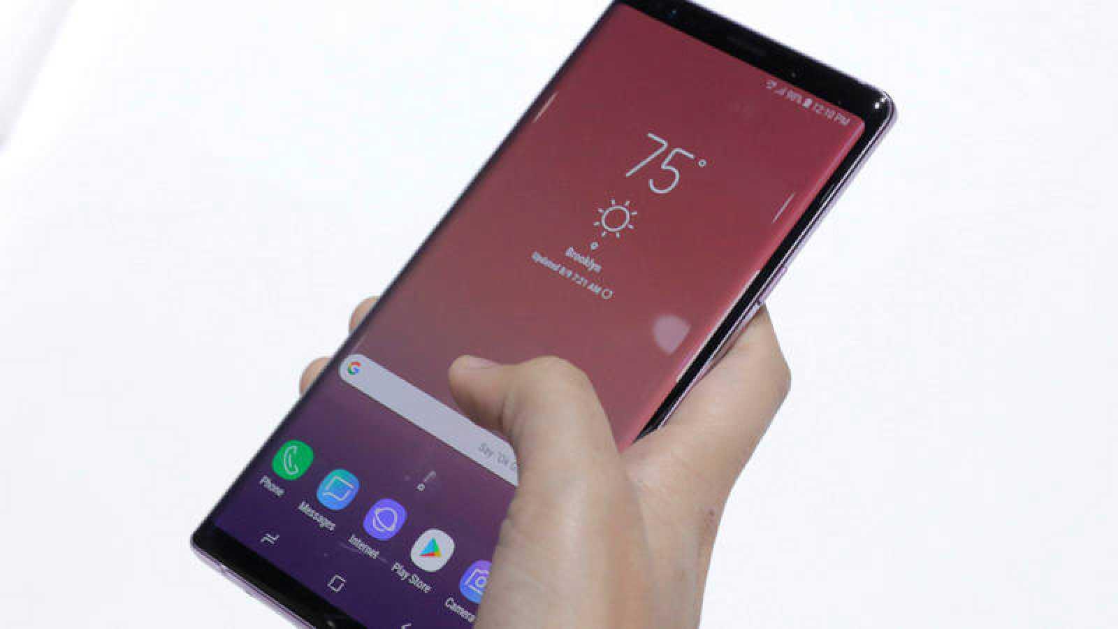 Samsung ha presentado su Galaxy Note9, una nueva generación de su 'phablet'.
