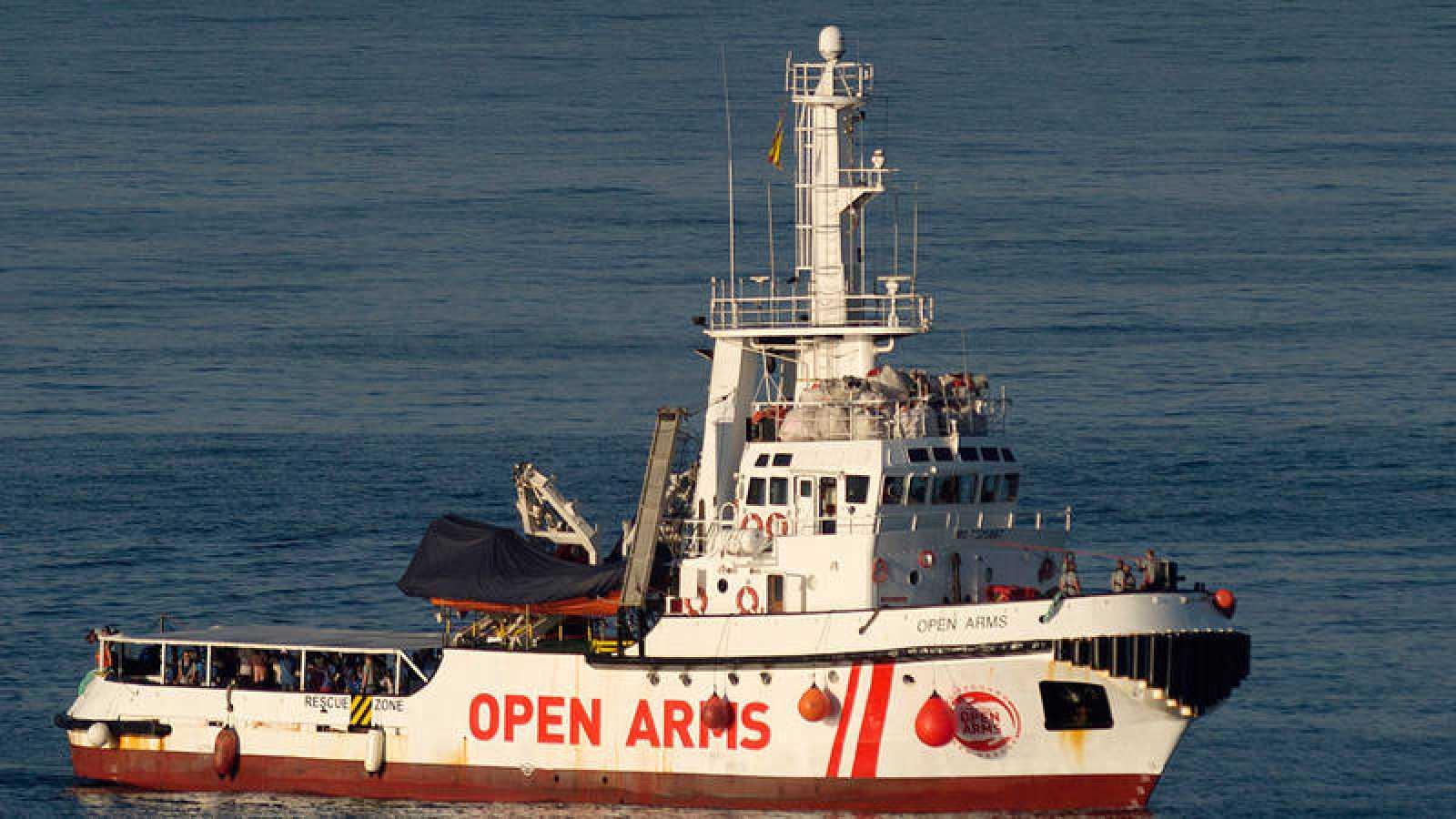 El buque Open Arms
