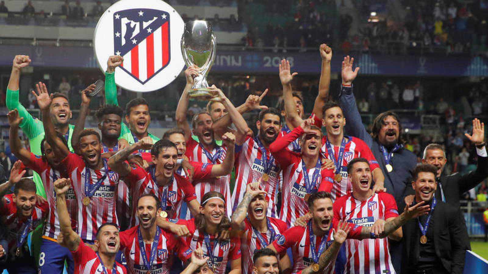9e812e8f18fea Los jugadores del Atlético de Madrid