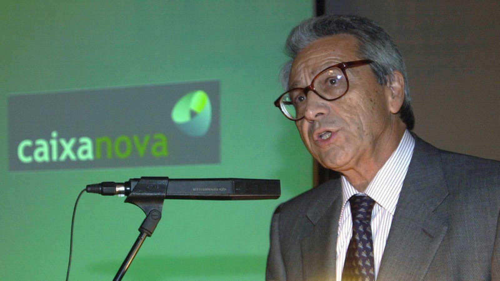 El expresidente de Caixanova, Julio Fernández Gayoso, en una imagen de archivo