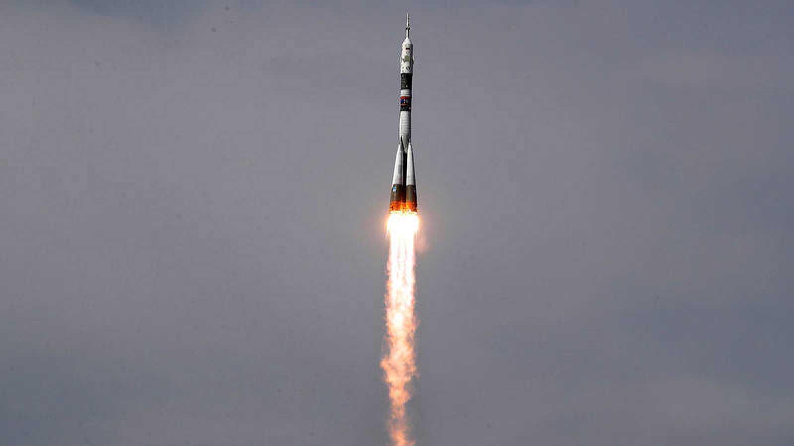La agencia espacial rusa cree que el agujero que apareció en la nave Soyuz fue un sabotaje
