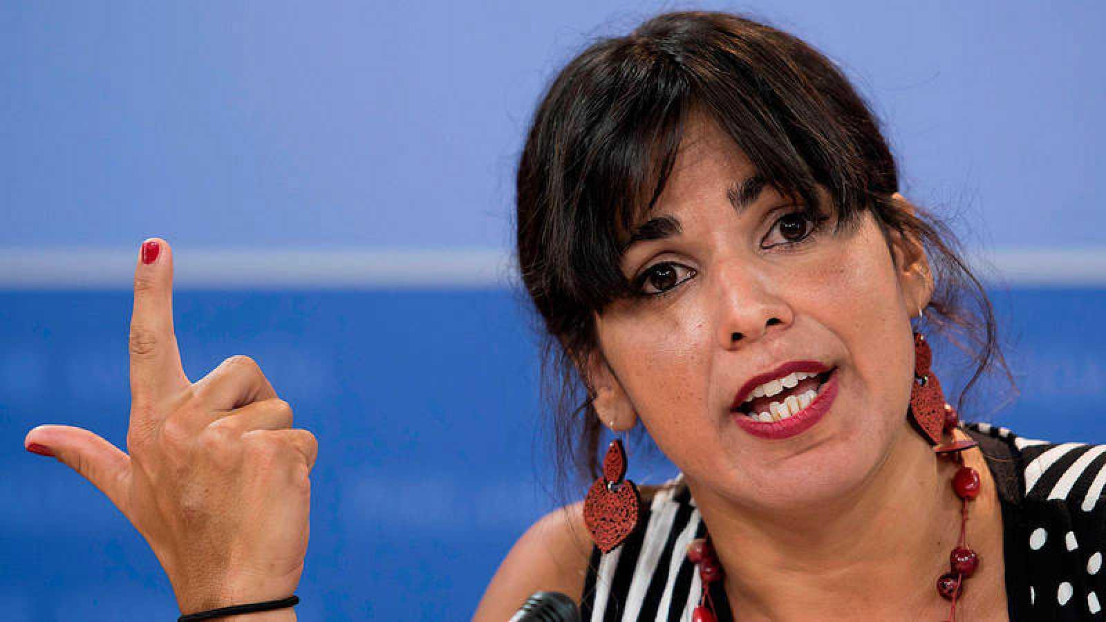 Teresa Rodríguez será la candidata de la confluencia IU-Podemos a las andaluzas