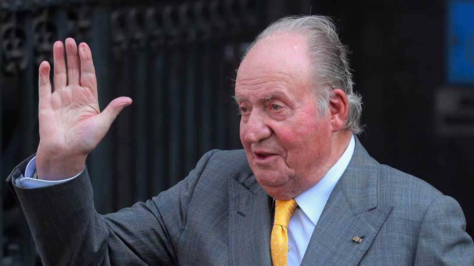El rey emérito Juan Carlos I, en una imagen del mes de marzo.