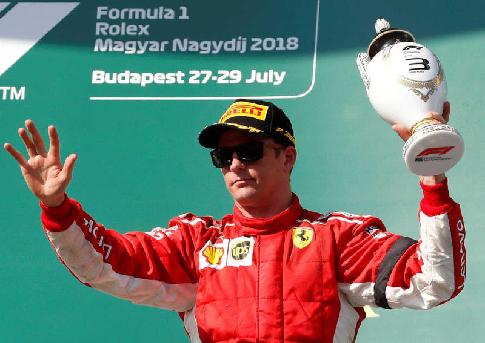 Raikkonen en el GP de Hungría