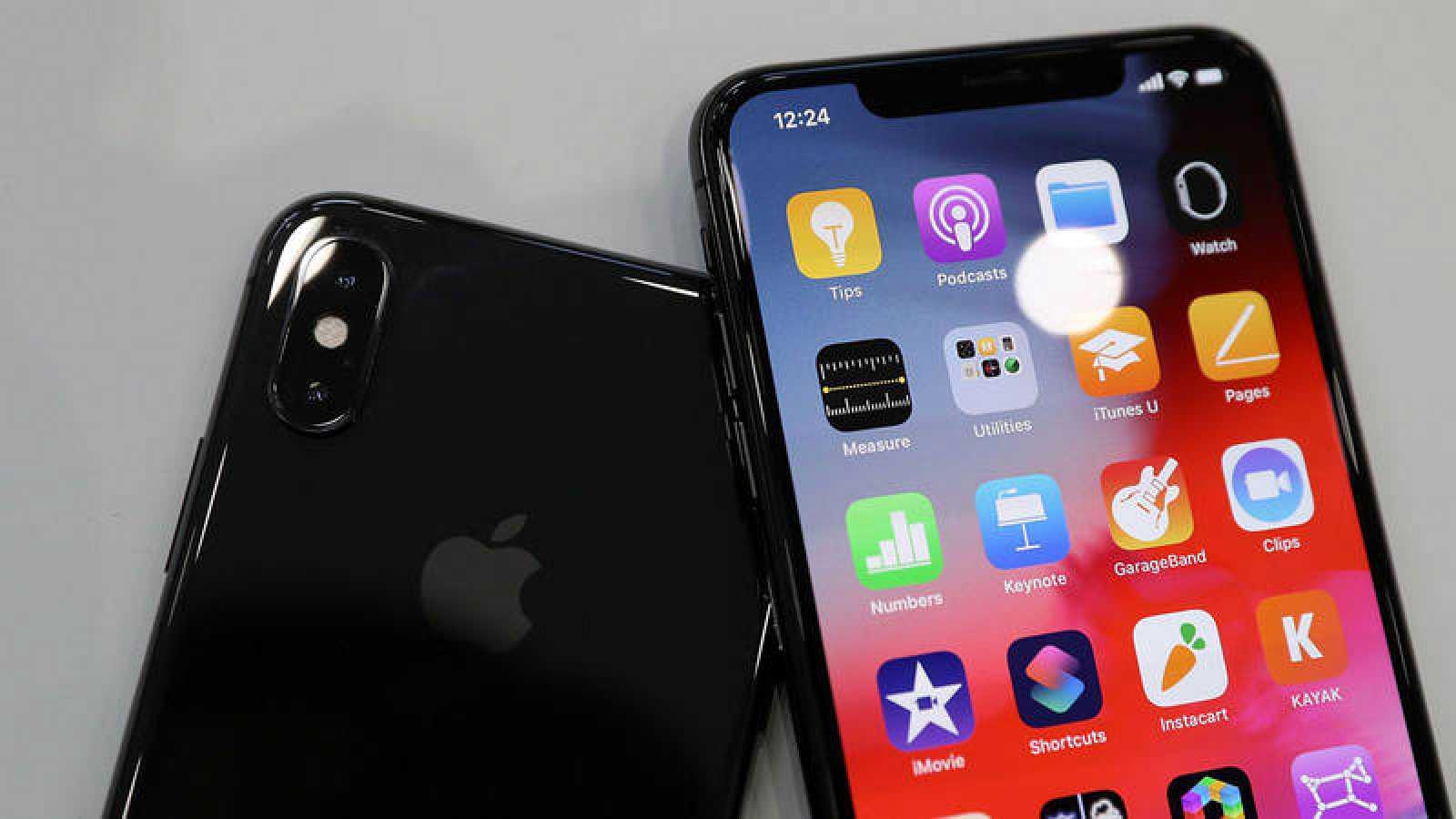Los nuevos iPhone XS presentados por Apple.