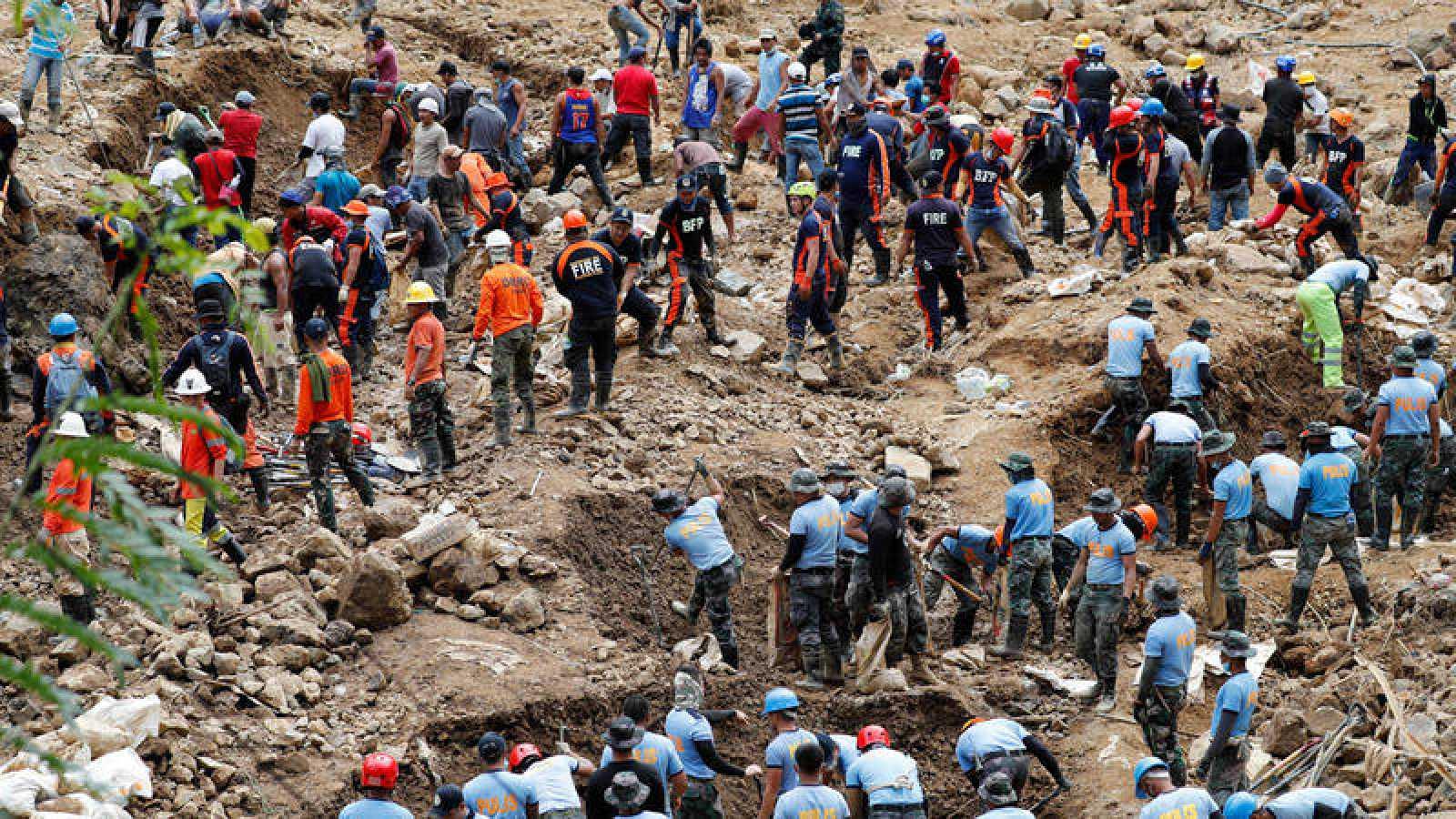 Las víctimas del tifón Mangkhut ascienden a 81 muertos y 70 desaparecidos