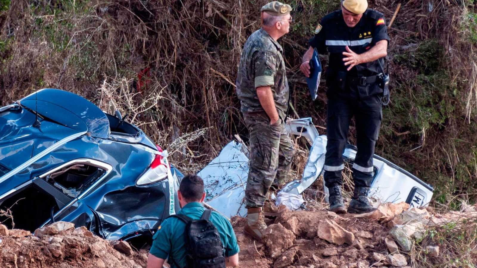 Cuarto día de búsqueda del niño desaparecido por la riada en Mallorca