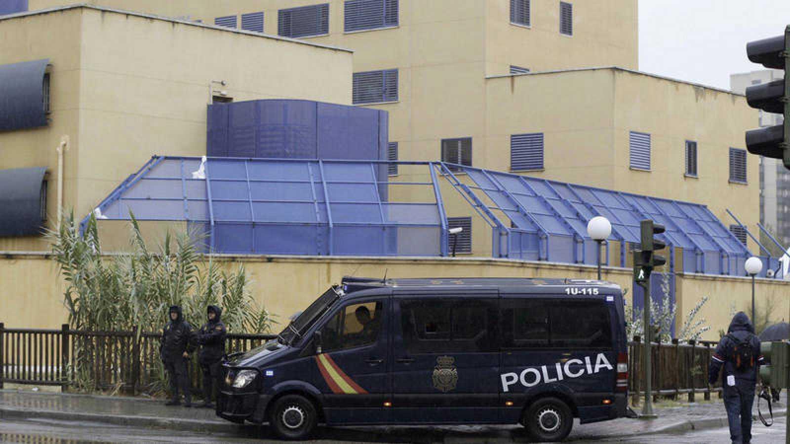 Fotografía de archivo del CIE de Aluche, en Madrid