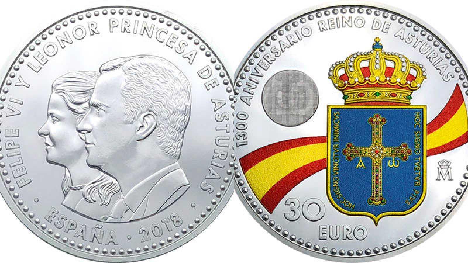 La princesa Leonor y Felipe VI