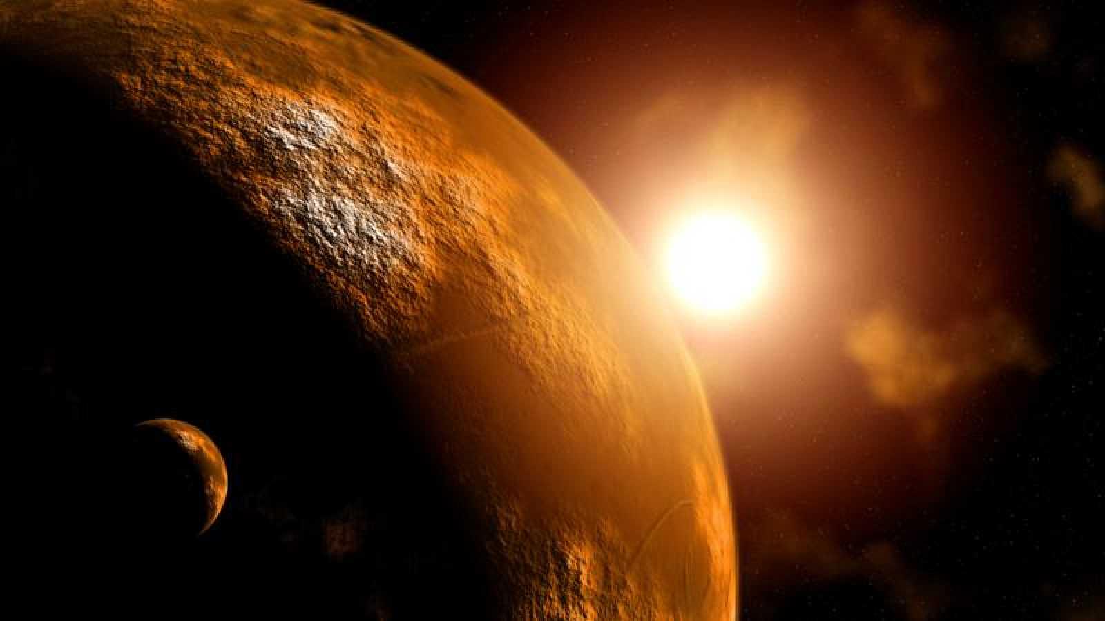 Marte podría contener suficiente oxígeno como para albergar vida