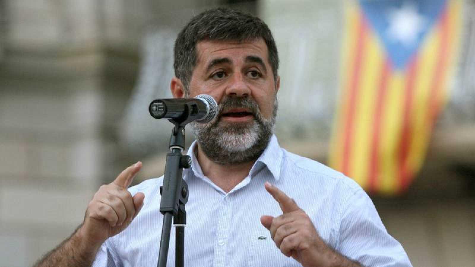 El expresidente de la ANC, Jordi Sánchez, en una imagen de archivo