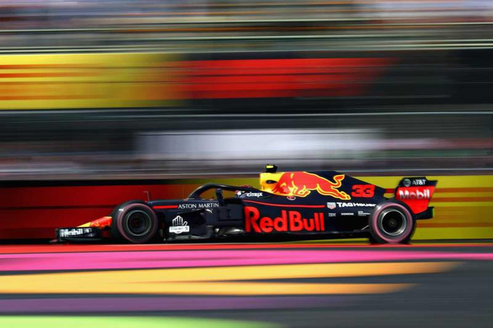 Max Verstappen durante la jornada de libres en México.