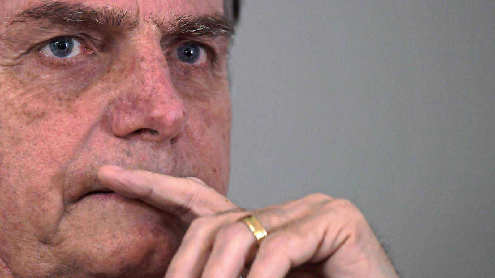 Jair Bolsonaro en una fotografía tomada el 28 de octubre