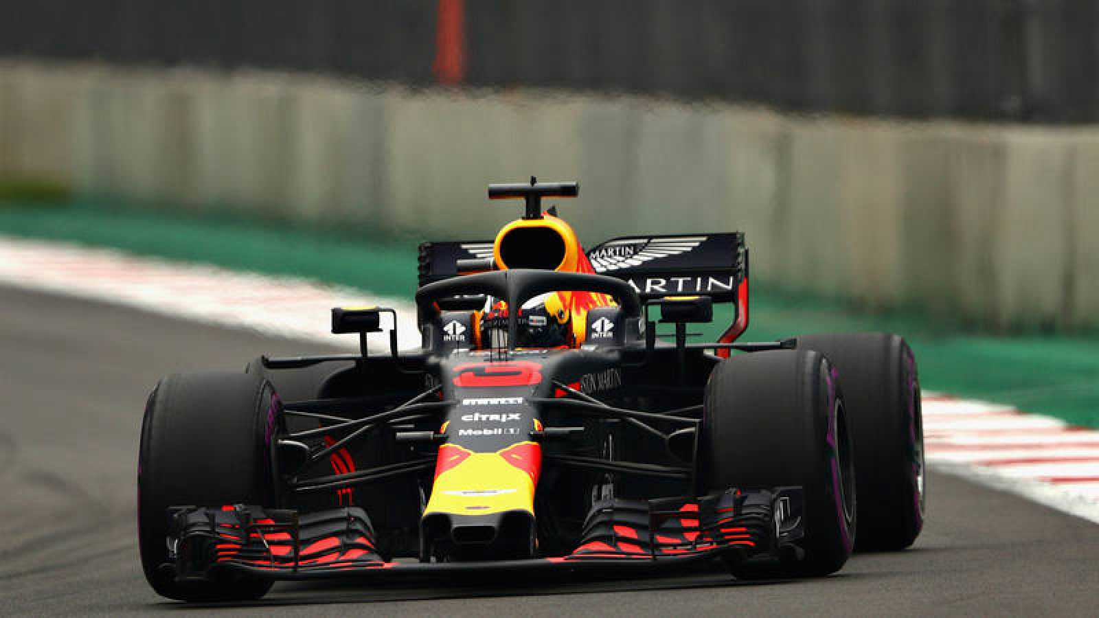 Daniel Ricciardo (Red Bull), pole en México.