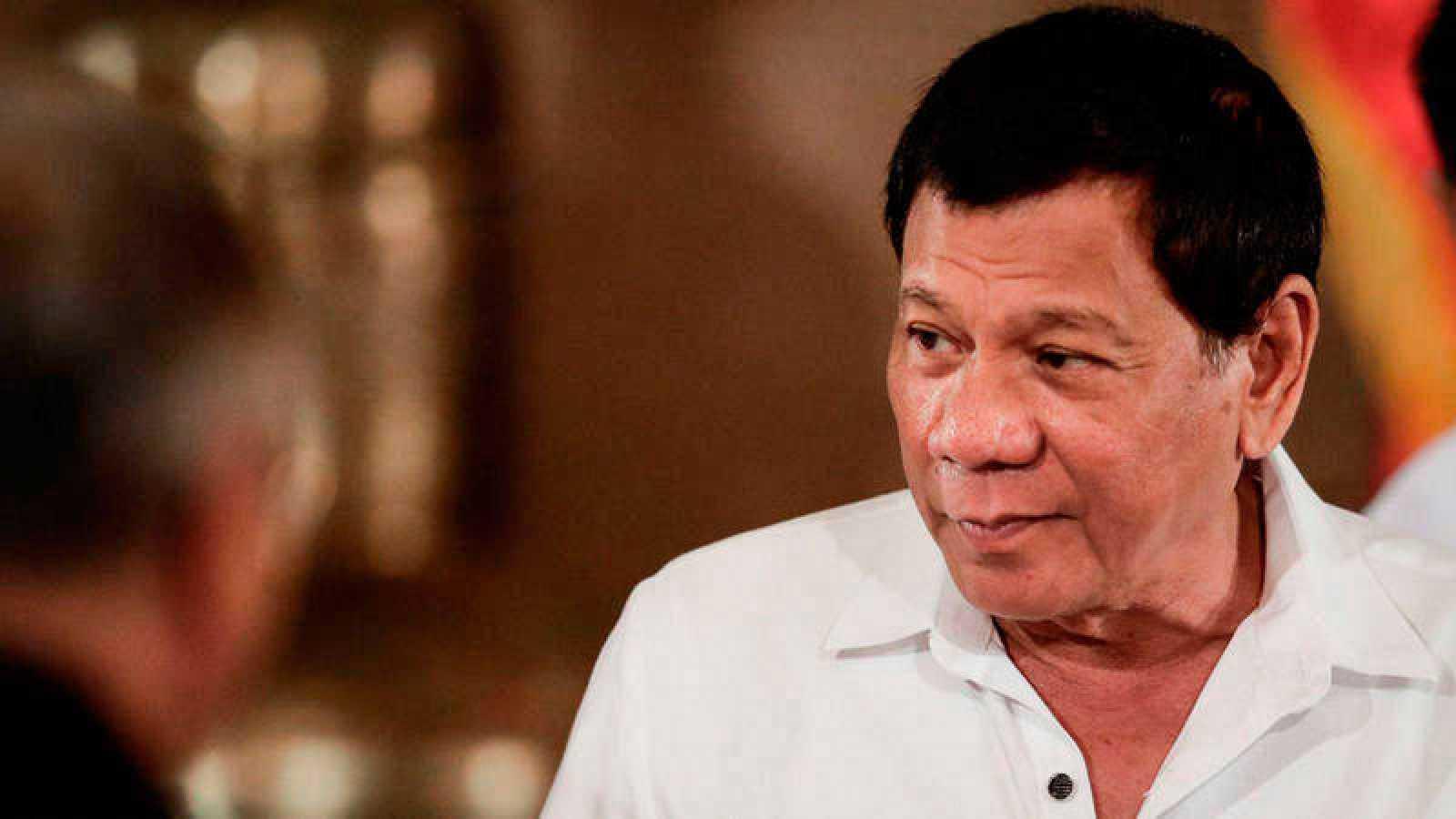 El presidente de Filipinas, Rodrigo Duterte, a su llegada al palacio de Malacanang en Manila el pasado 27 de junio de 2017