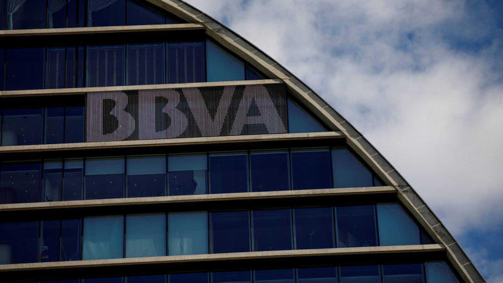Fotografía de archivo de la sede del BBVA en Madrid