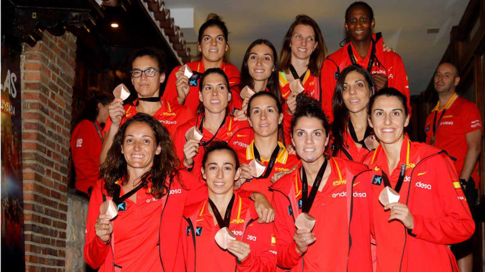 La selección de baloncesto femenina logró el bronce en el Mundial de Tenerife