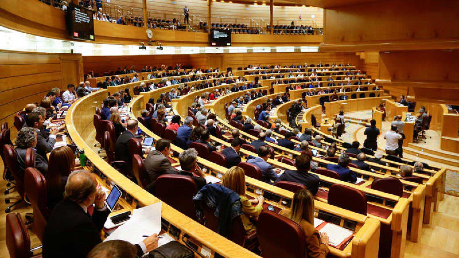 Imagen de un  pleno del Senado