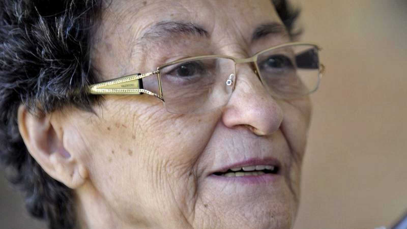 La poeta Francisca Aguirre, en una imagen de 2014.