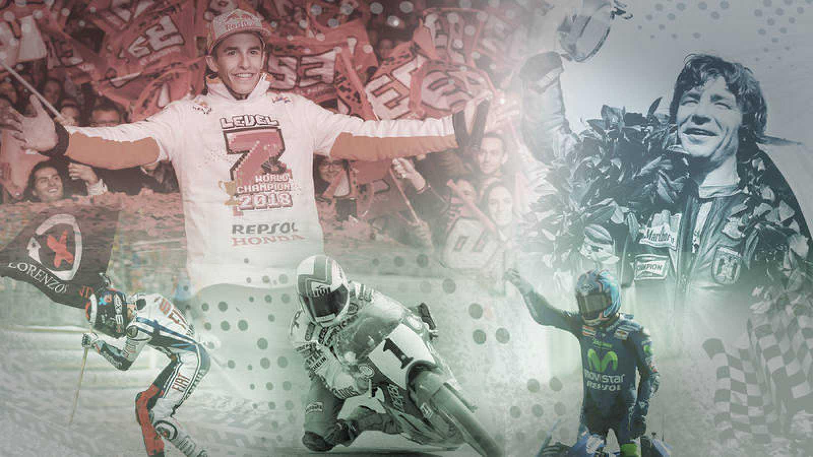 MotoGP - Los pilotos españoles con más títulos mundiales en motociclismo