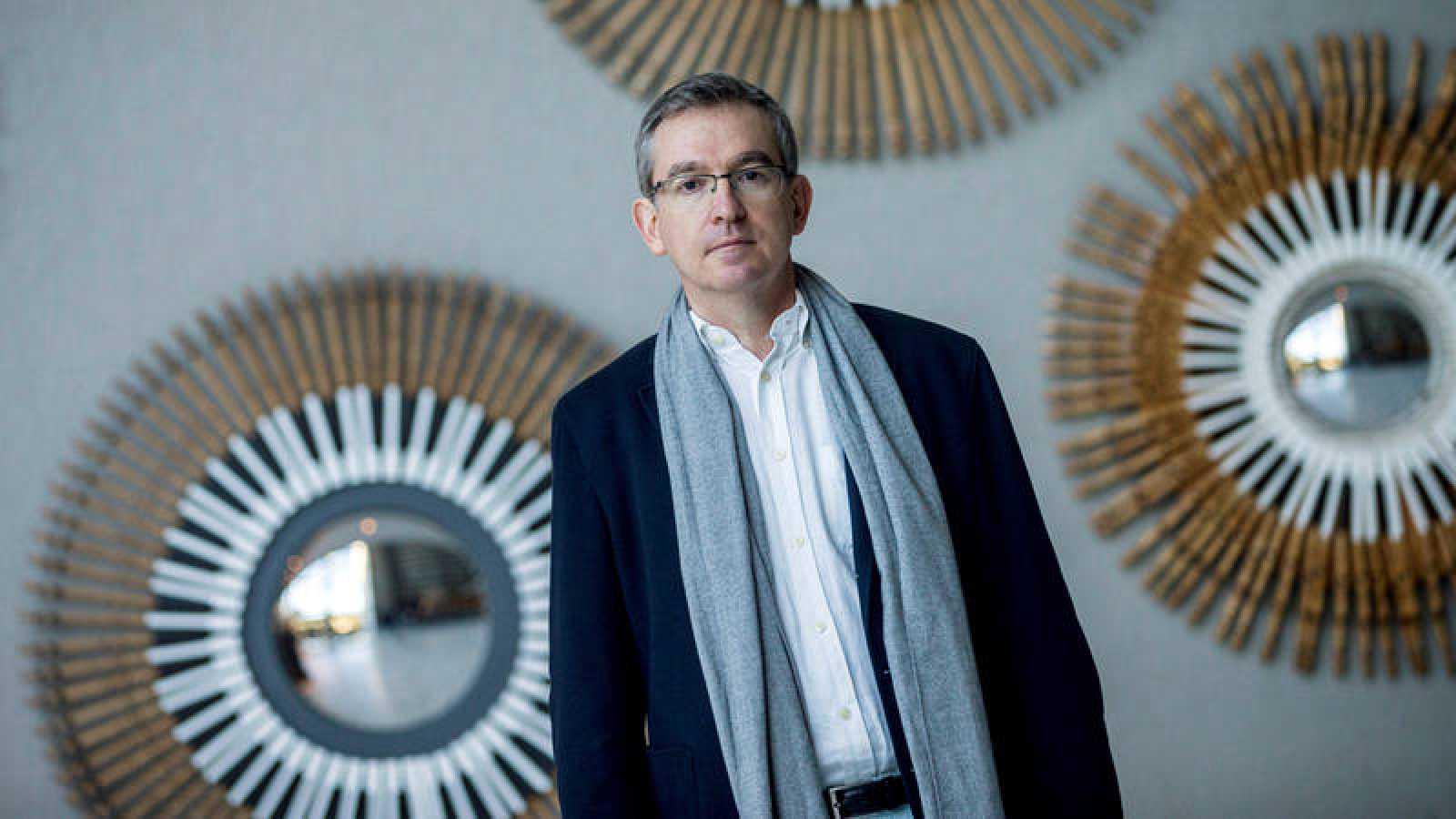 El reciente ganador del premio Planeta, Santiago Posteguillo