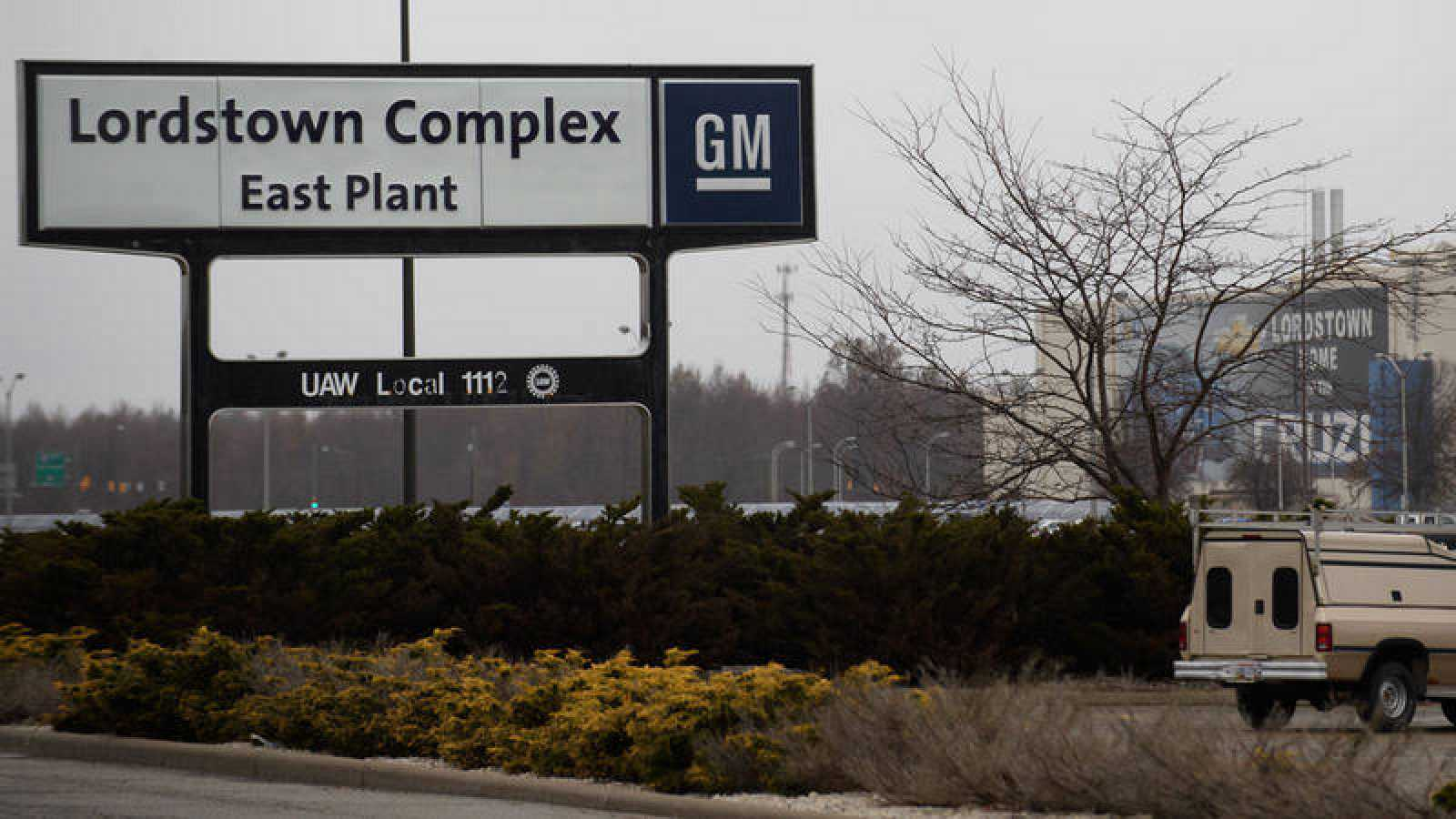 Planta de GM en Lordstown en Ohio