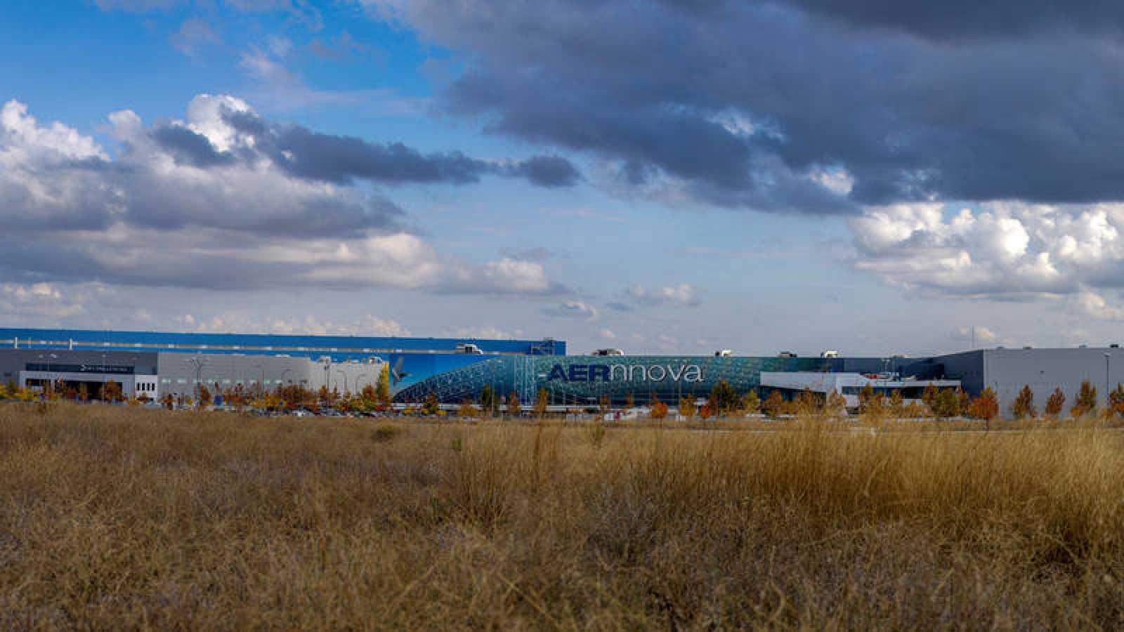 Polígono industrial en La Sagra (Toledo)