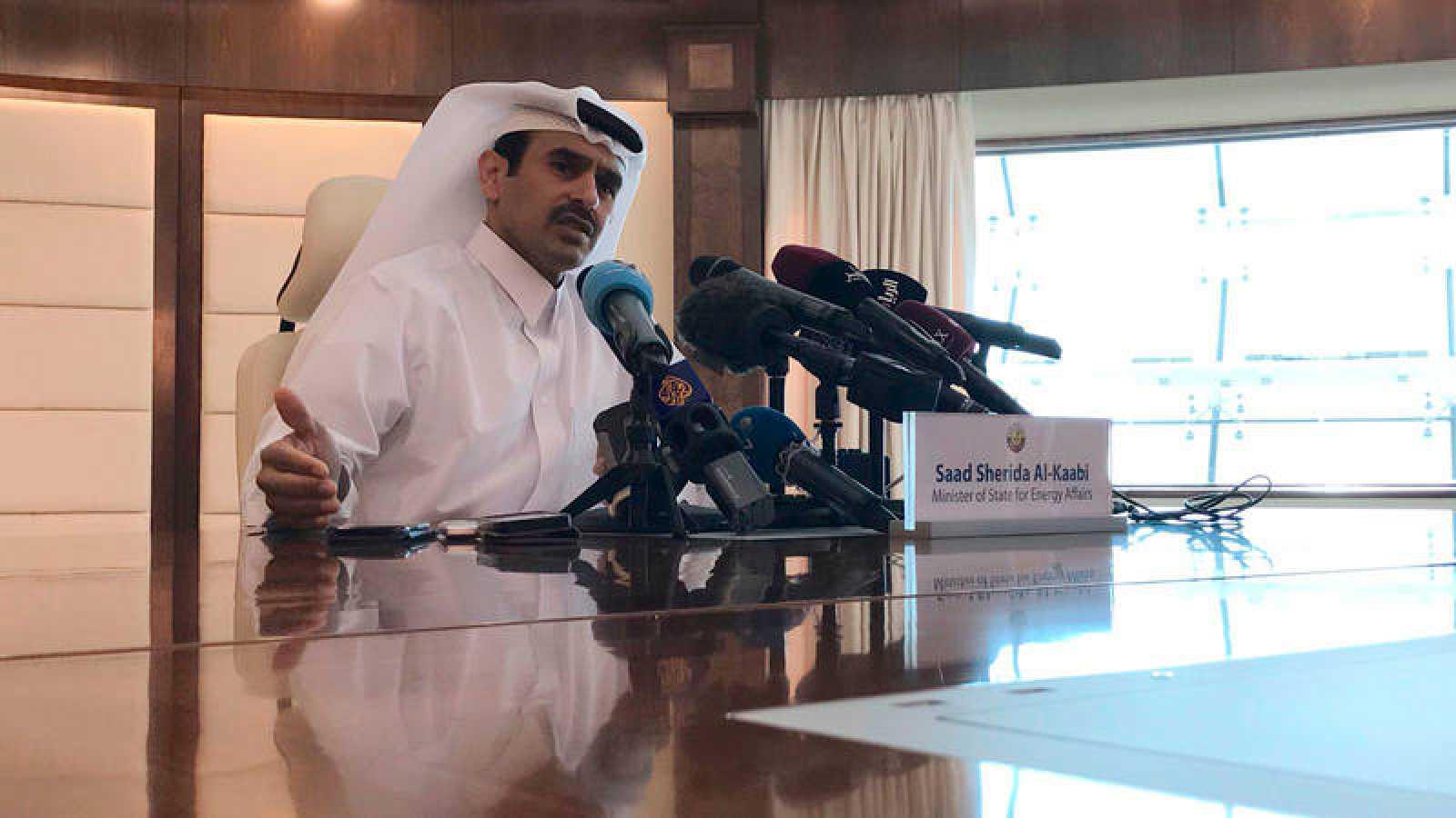 El ministro de Energía de Catar, Saad al Kaabi