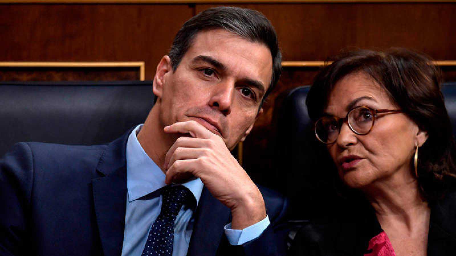 Sánchez y Calvo, en el acto de conmemoración de los 40 años de la Constitución