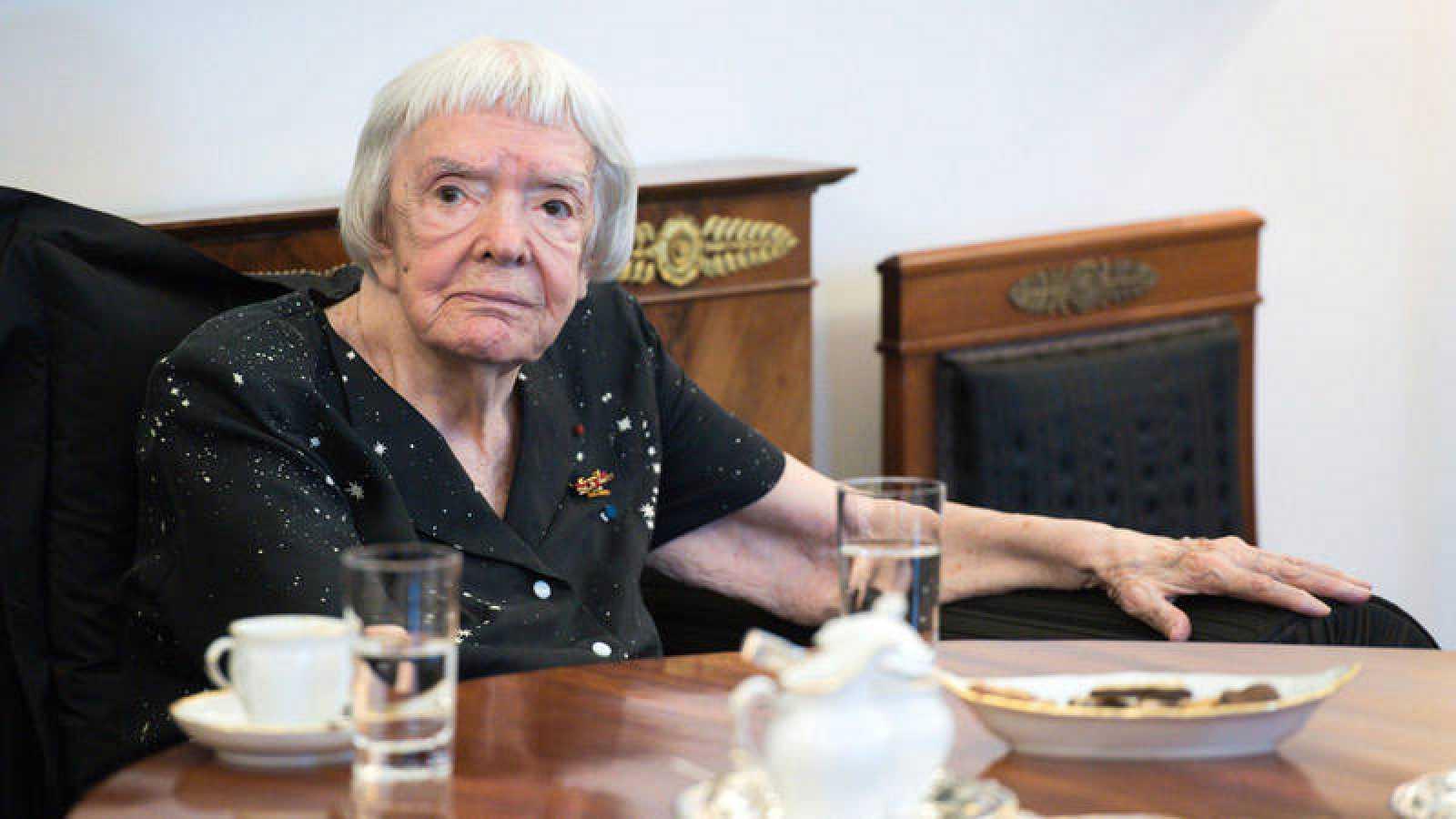 La rusa Ludmila Alexéyeva en una imagen de archivo
