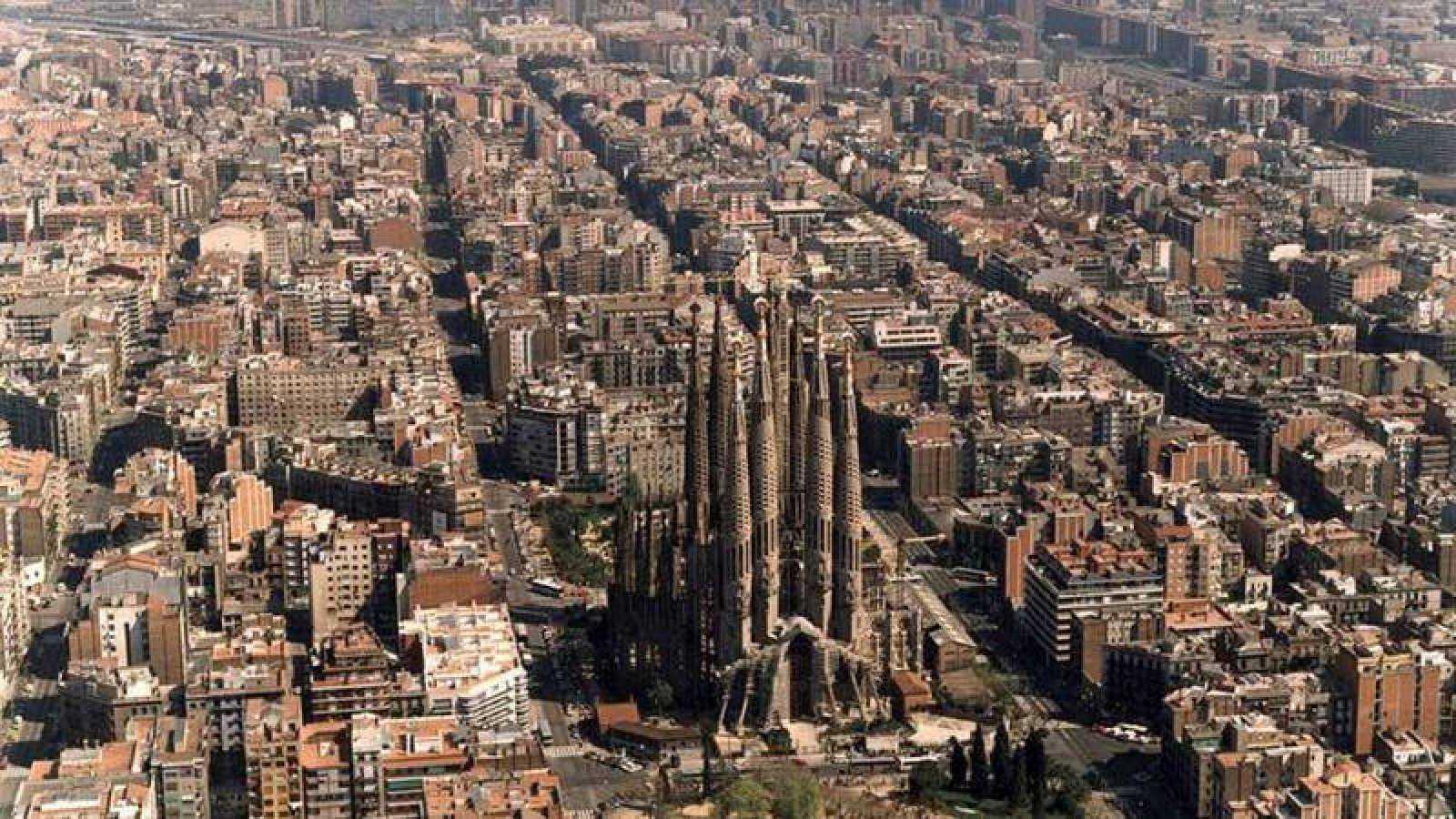 Vista de Barcelona, capital de la segunda provincia que más gasta en Lotería