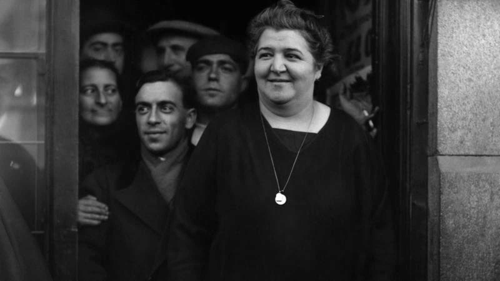 Doña Manolita en 1935