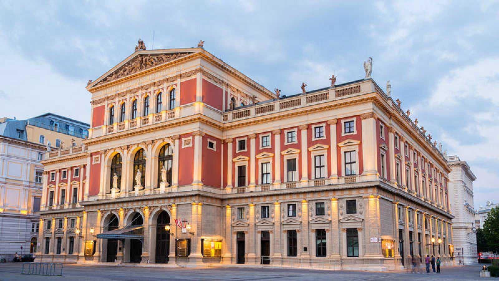 Fachada del Musikverein de Viena